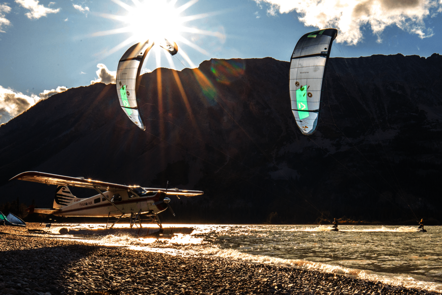 The DeHavilland Beaver Duotone Kiteboarding Evo episode Canada