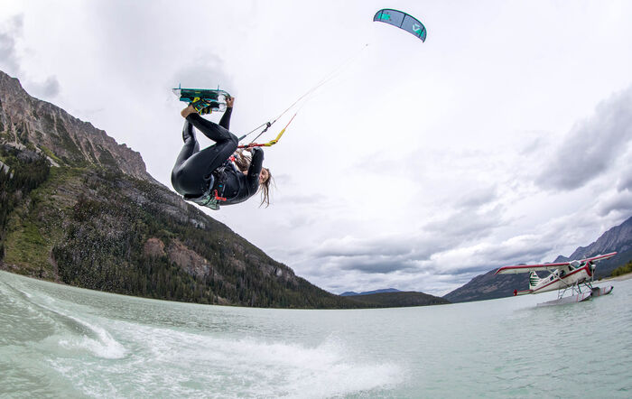 The De Havilland Beaver Duotone Kiteboarding Reno Romeu Tom Hebert Evo episode Canada