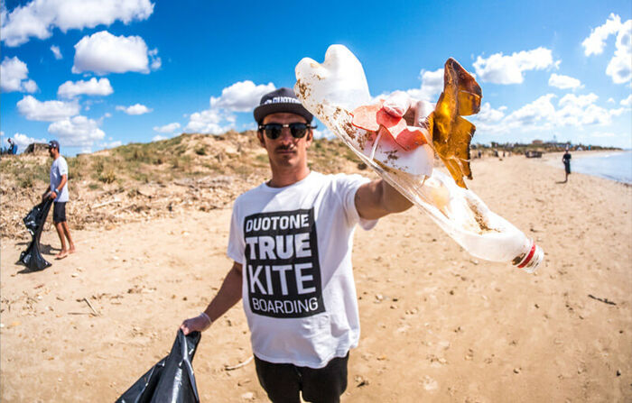 Duotone Sustainability Beach Cleaning