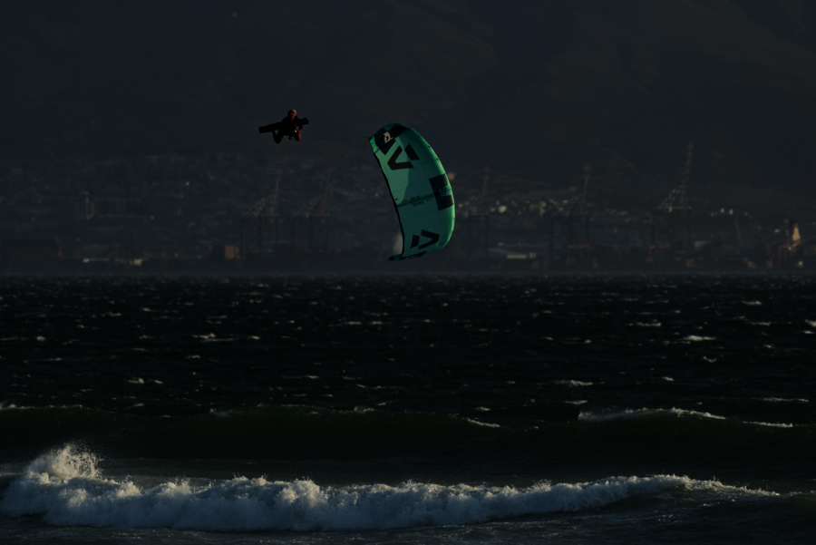 Duotone Kiteboarding Lasse walker cold hawaii big air