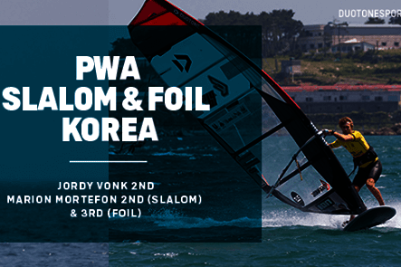 Duotone Windsurfing PWA Slalom and Foil Korea