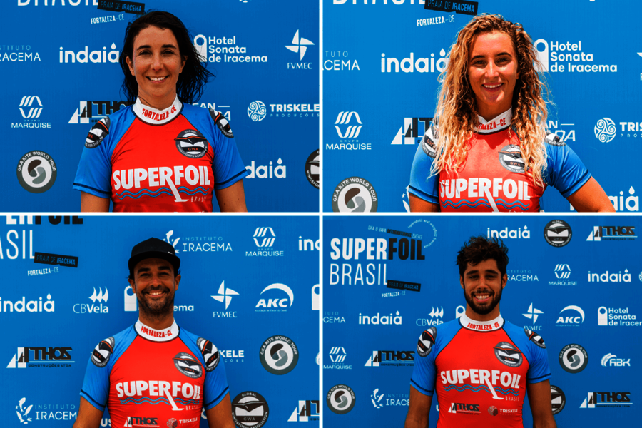 Duotone Foil Wing rider at the GWA SuperFoil Brasil