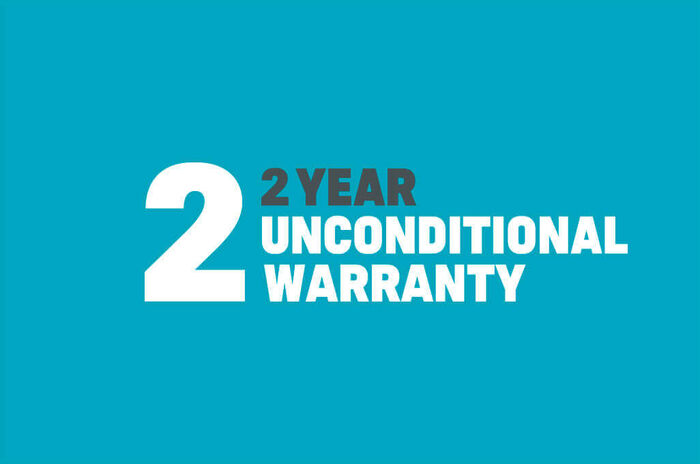 Duotone Windsurfing 2 year unconditional warranty