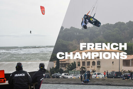 Duotone Kiteboarding French Champions