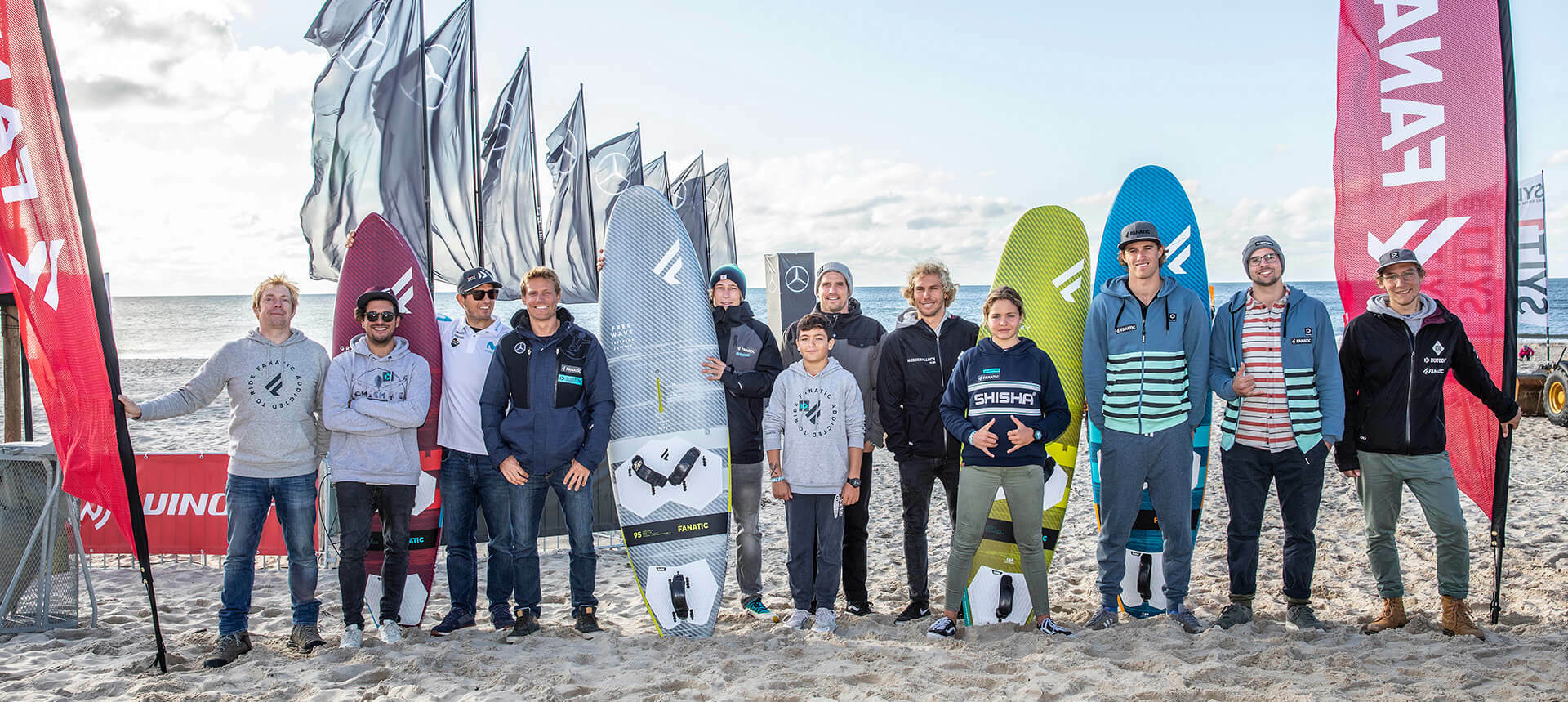 Duotone Windsurfing Sylt 2019 Team