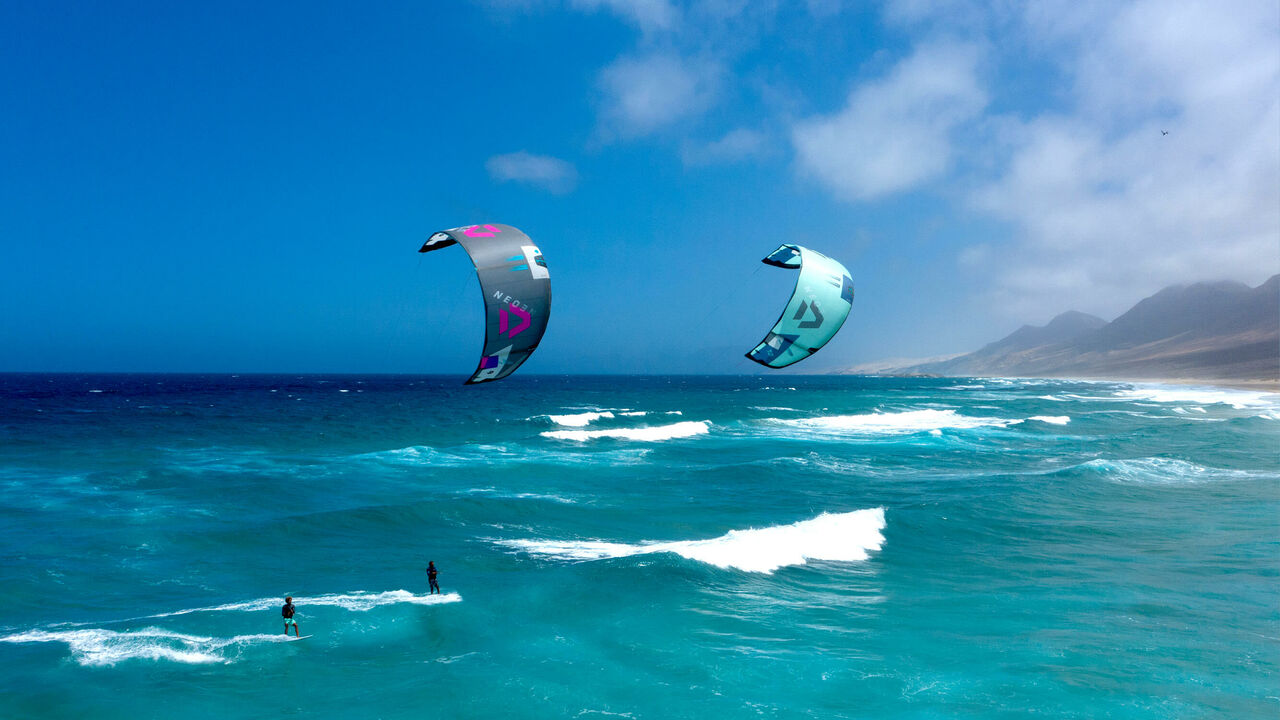 This is SLS from Duotone Kiteboarding