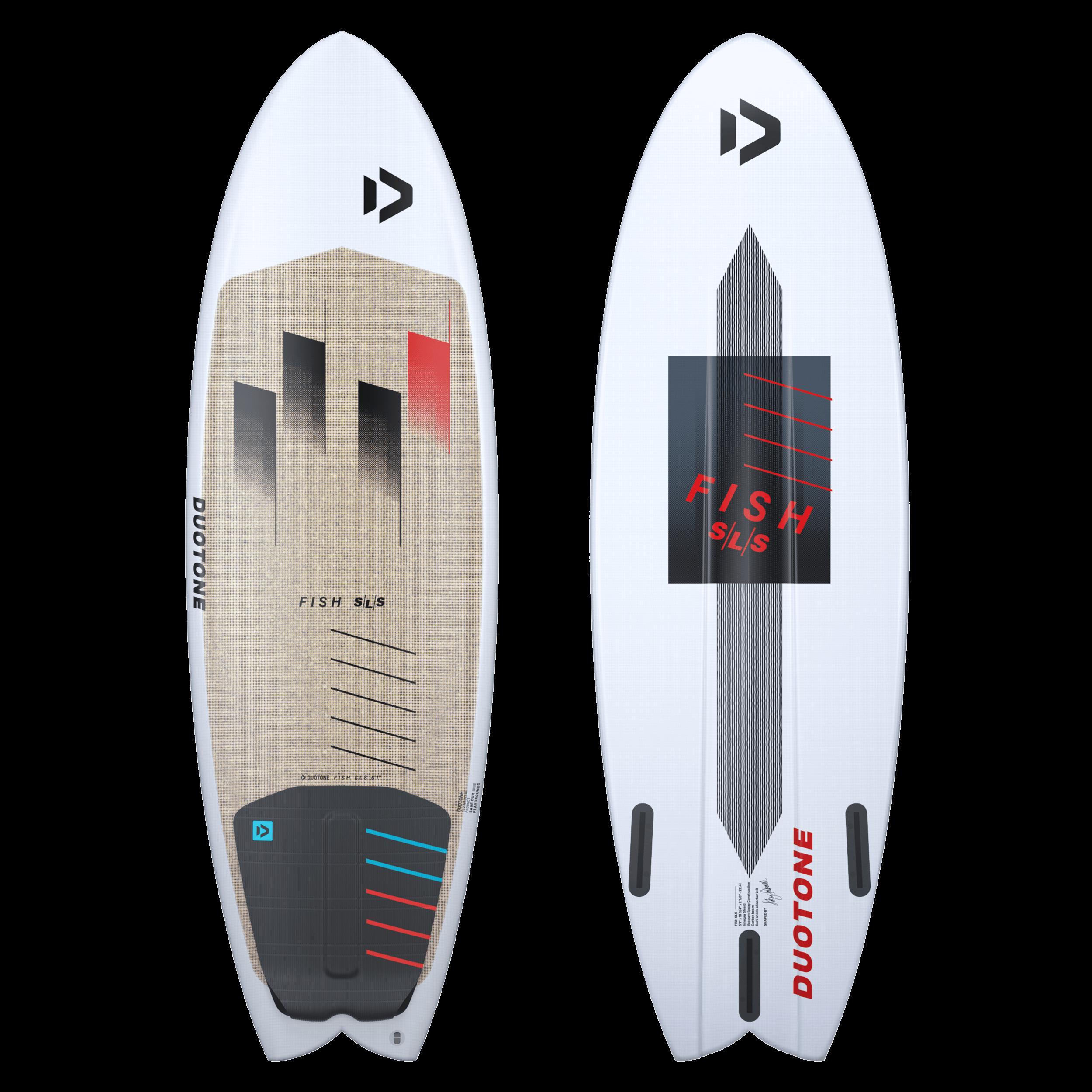 duotone kiteboarding fish sls tech features