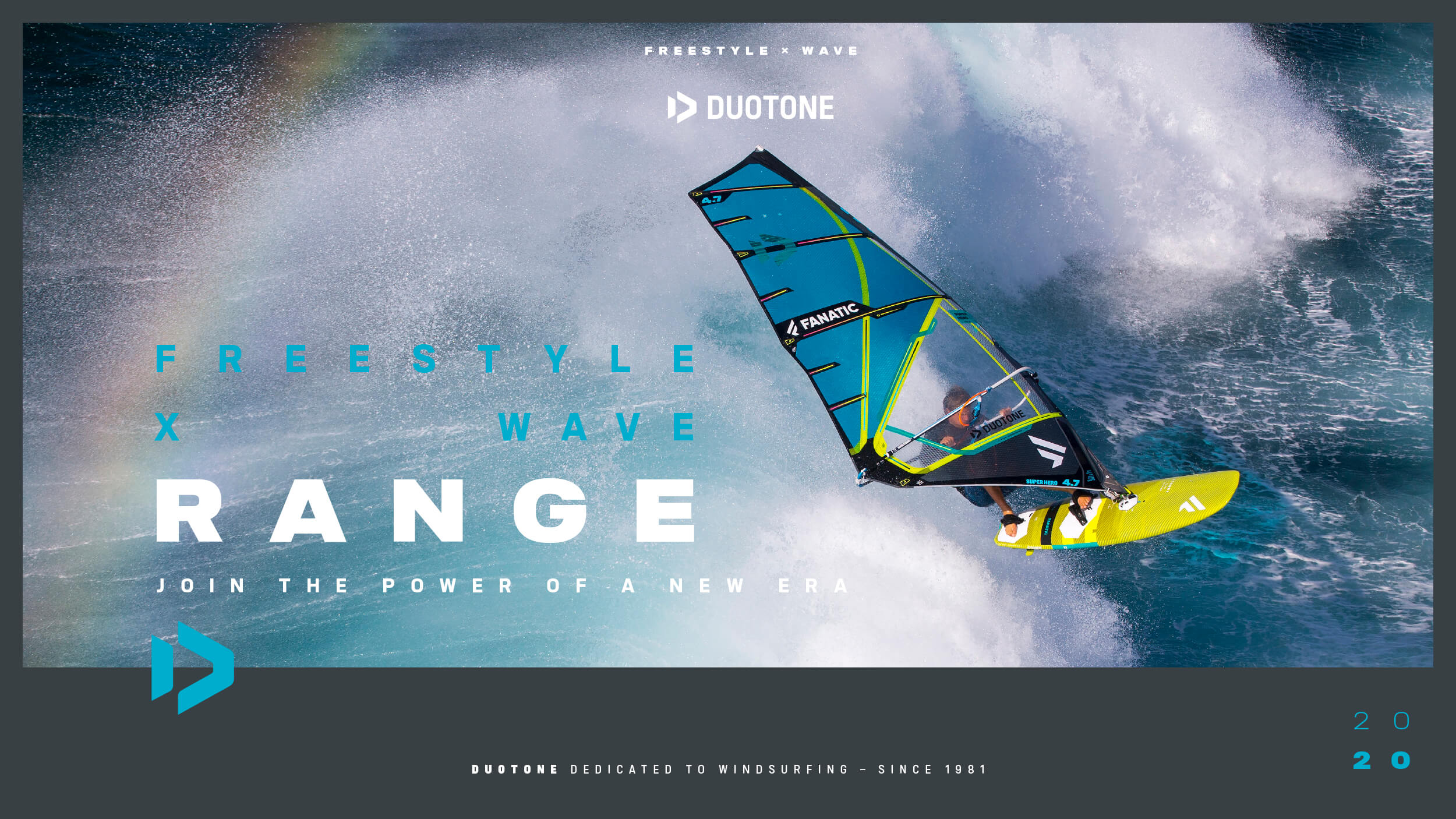 Duotone Windsurfing Freestyle Wave Range 2020