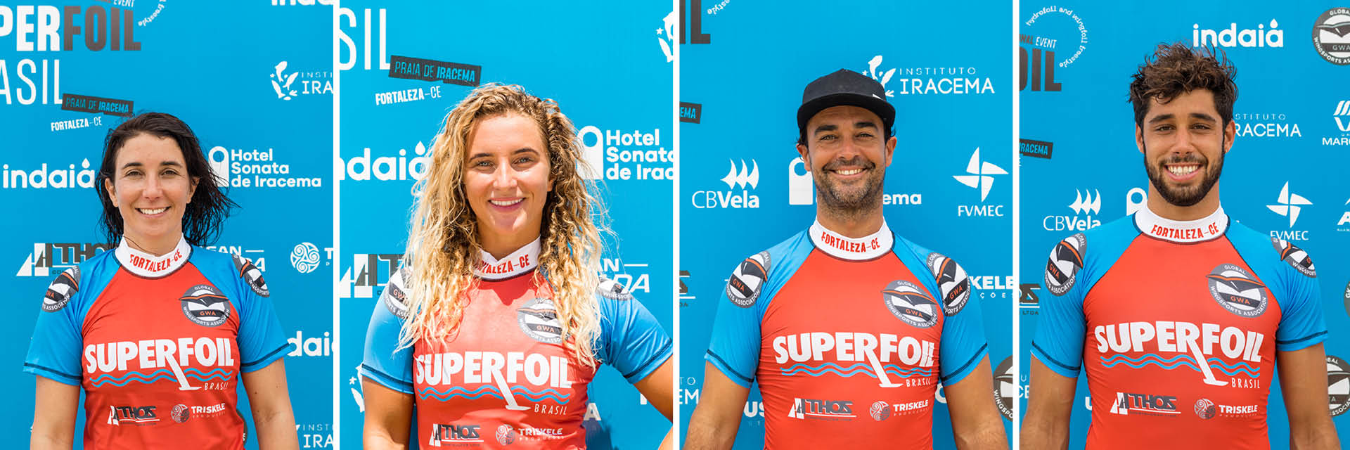 Duotone riders at the GWA SuperFoil Brasil