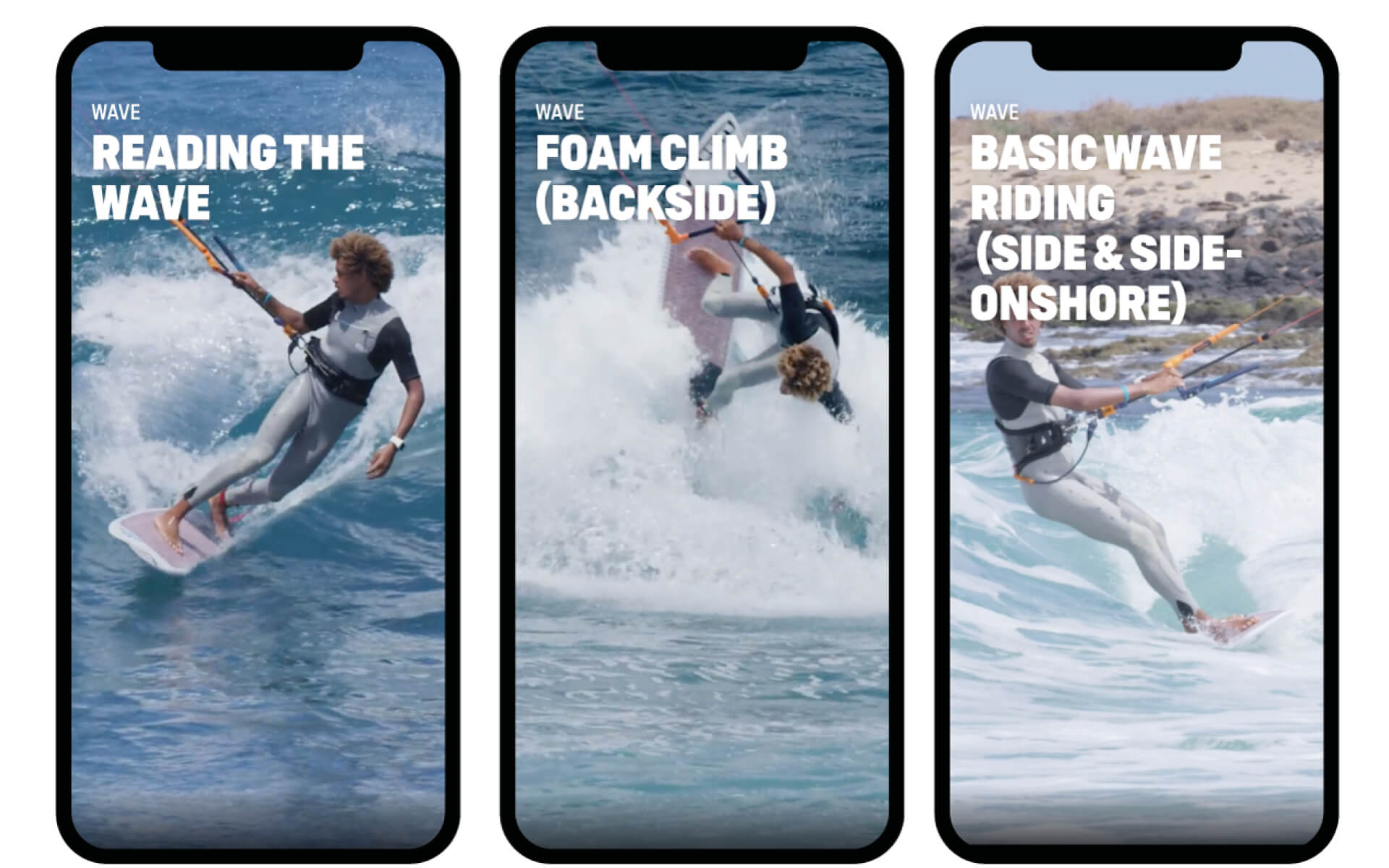 Duotone Kiteboarding Academy App New Wave Tricks Mobile