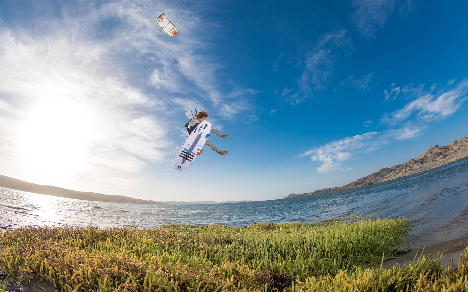 Duotone Kiteboarding Dice 2020 Action shot Matchu Lopes