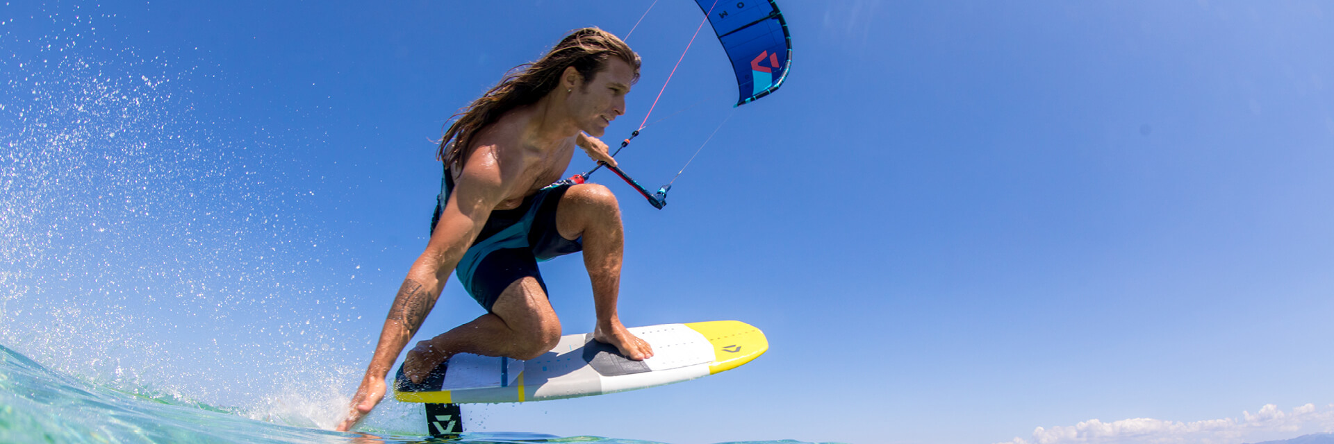 Duotone Kiteboarding PACE 2020 Tom Hebert