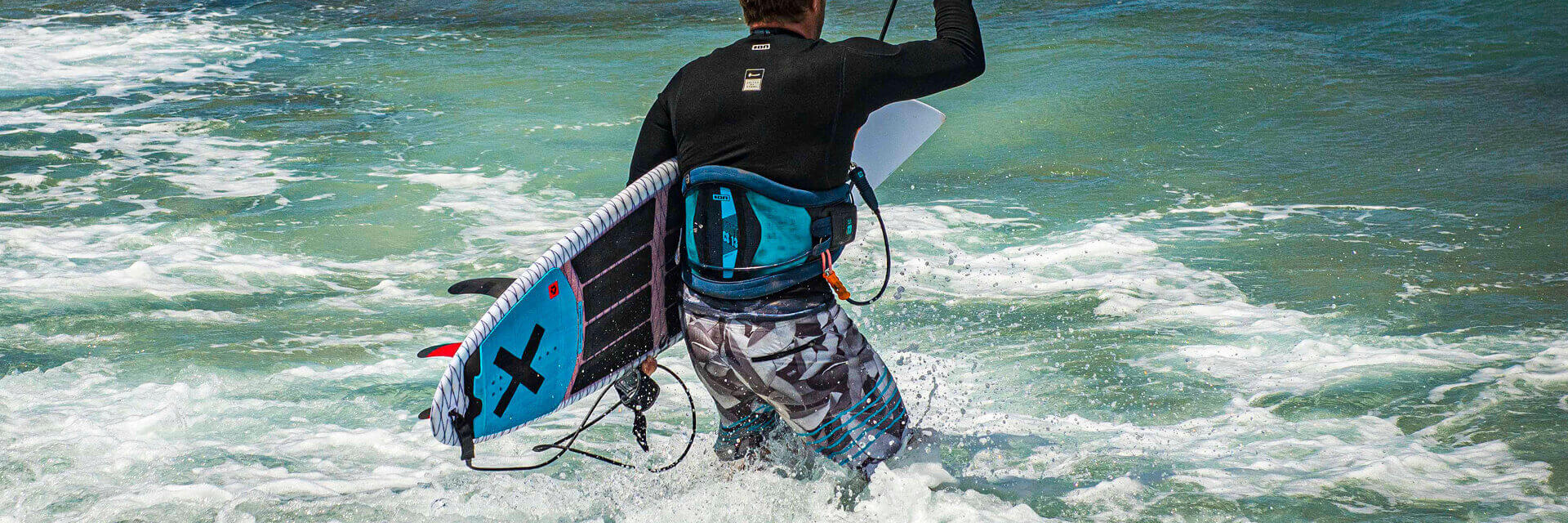 Duotone Kiteboarding Traction Pad Pro Back 2020