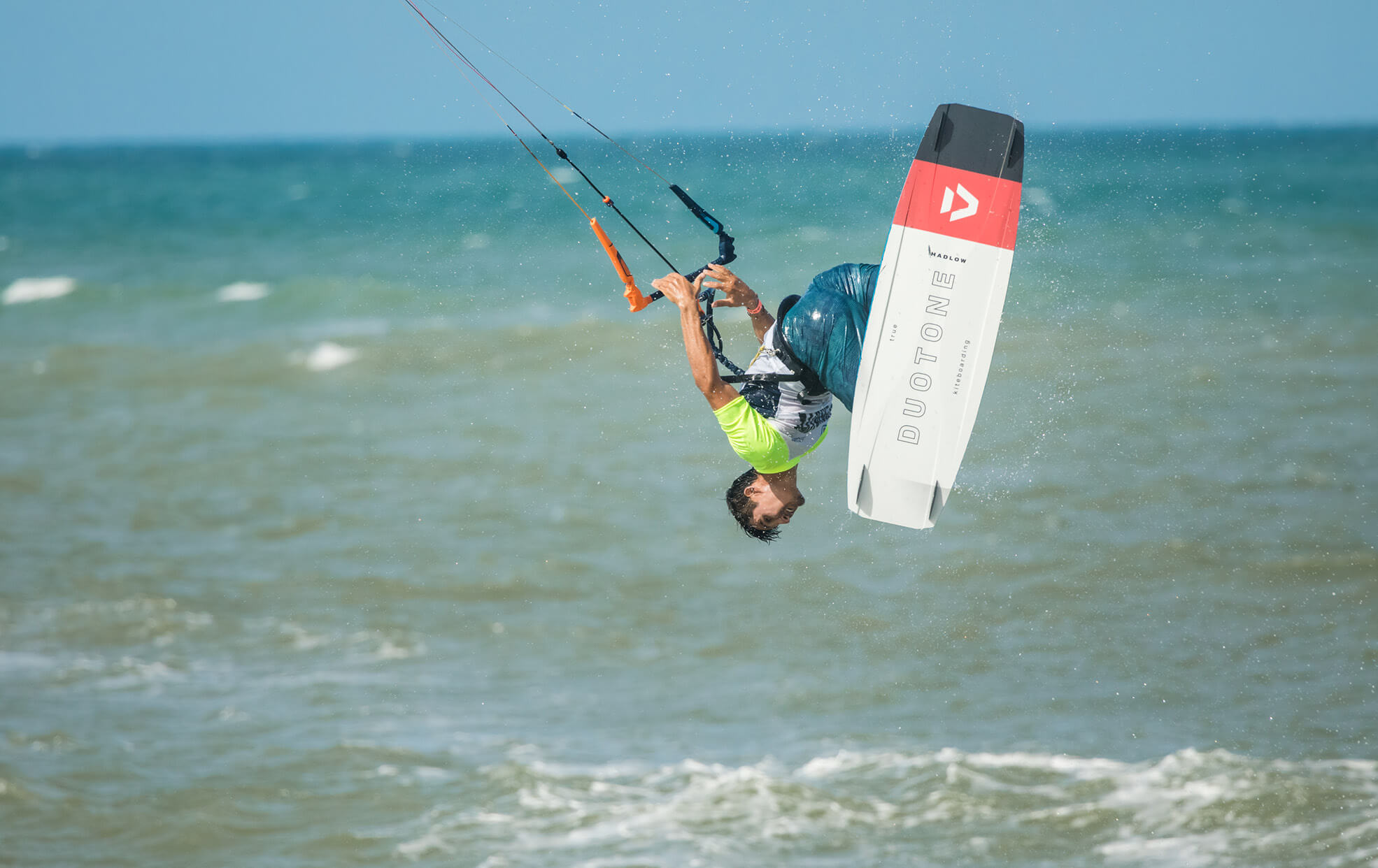 Duotone Kiteboarding World Champion Valentin Rodriguez Team Series Hadlow 2020