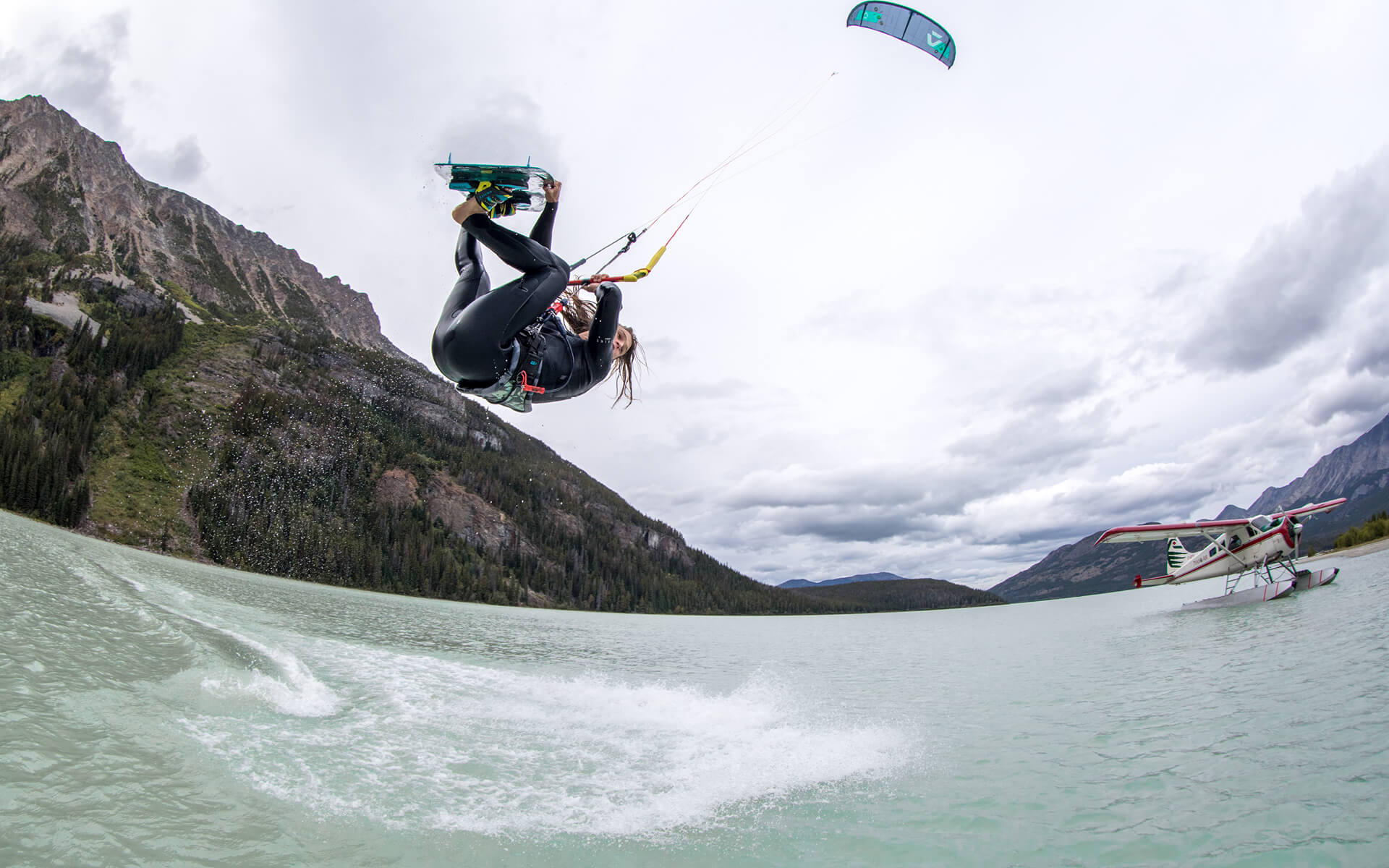 Duotone Kiteboarding Evo Launch 2020 Tom Hebert