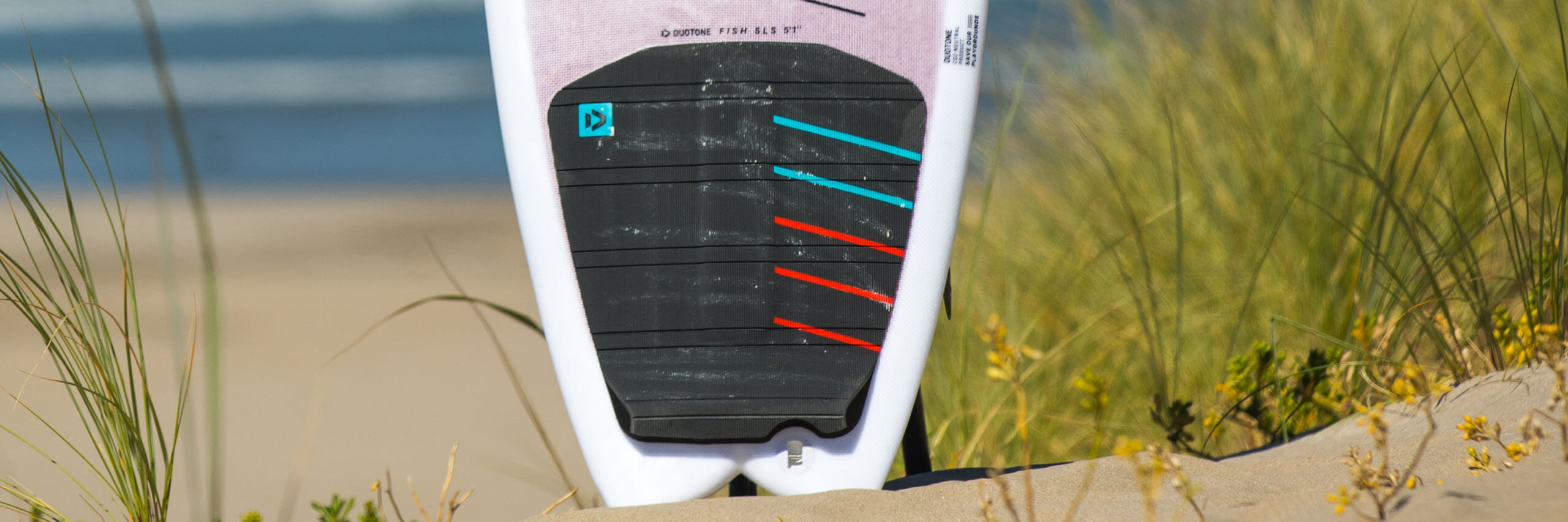 duotone kiteboarding surf pad pro back 2021