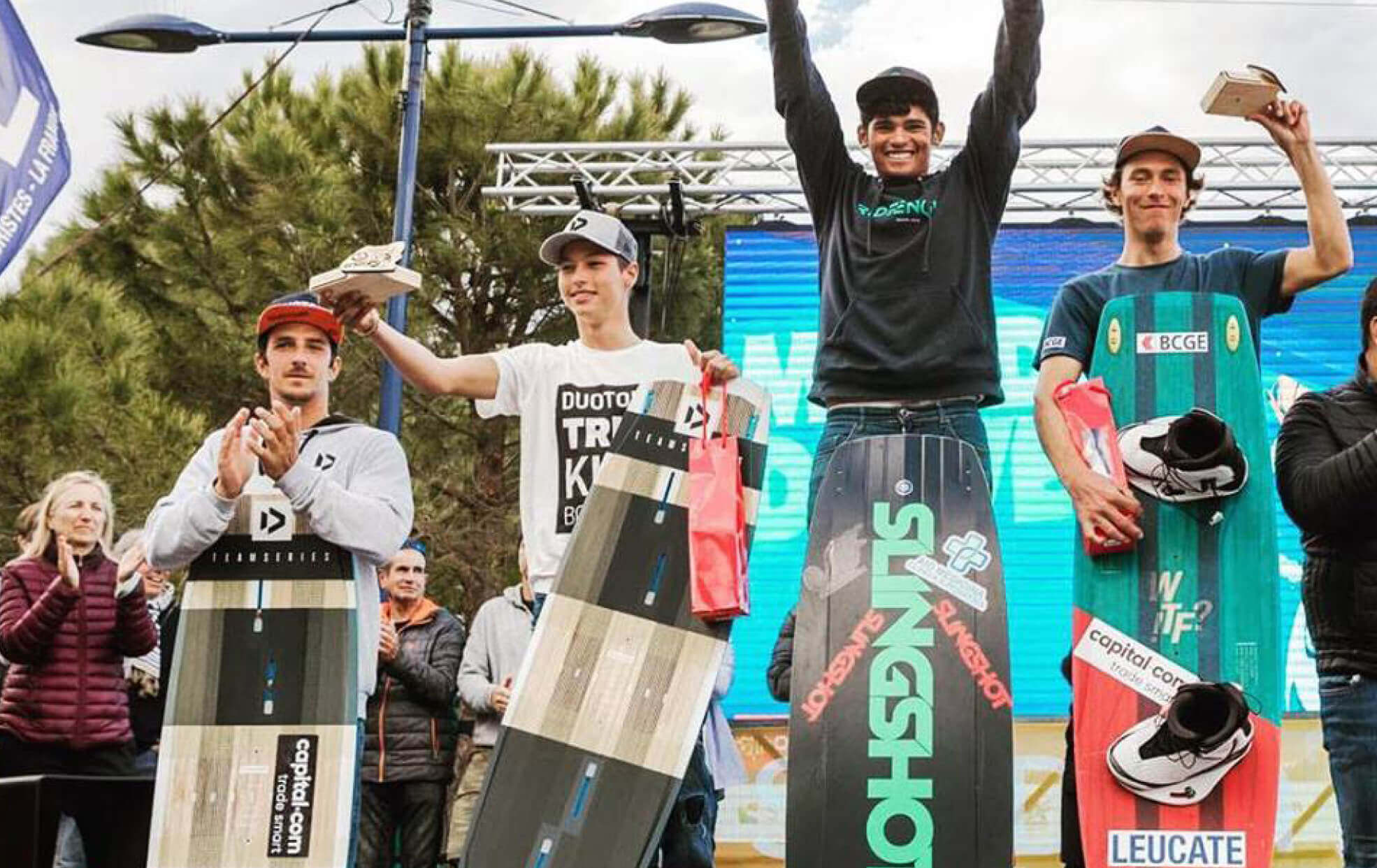 Duotone Kiteboarding GKA World CUP 2019 3rd Place Valentin