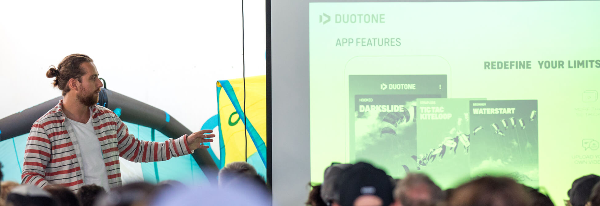 Duotone Kiteboarding Launch Academy App Project Manager Patrick Dudek