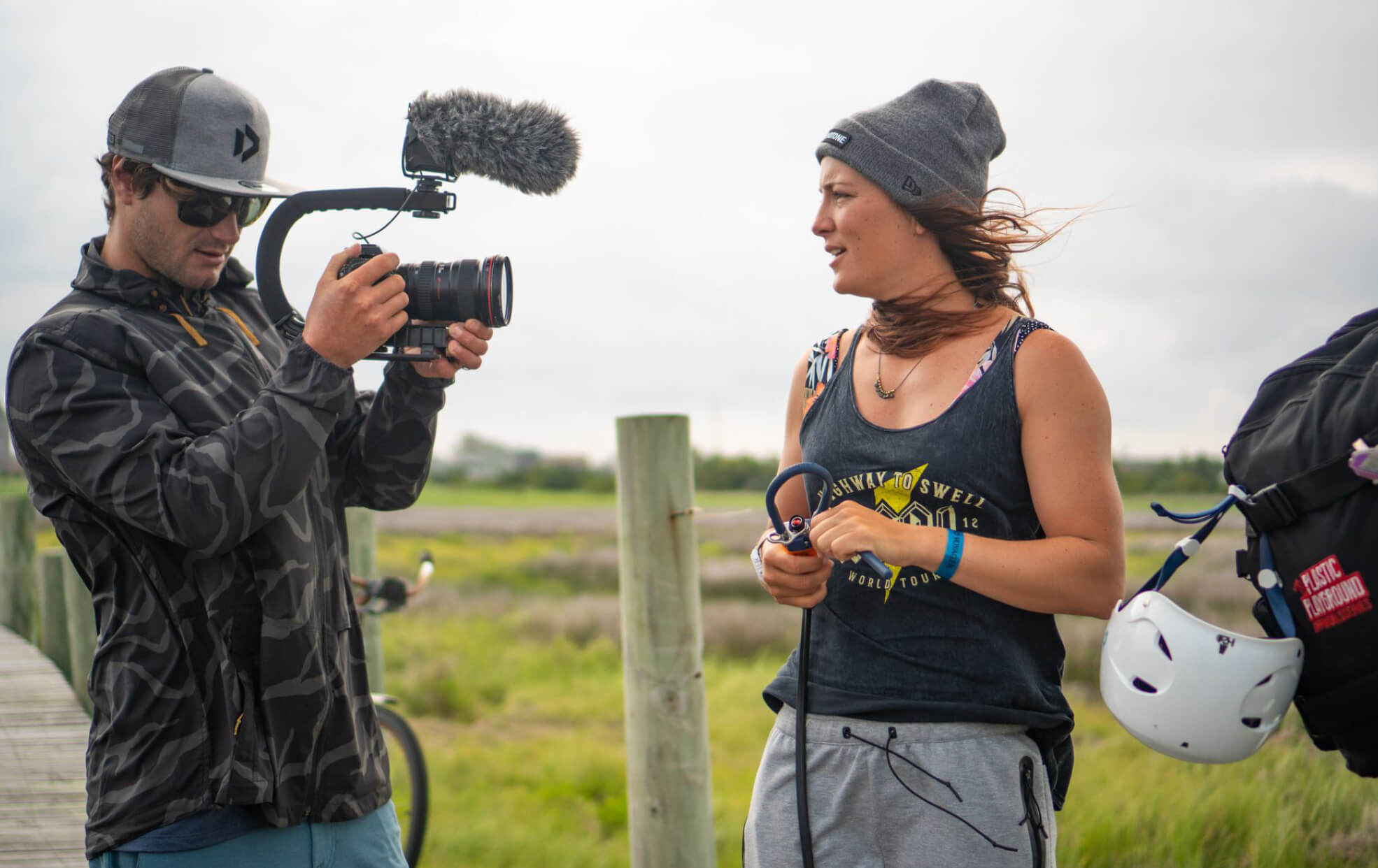 Duotone Kiteboarding Interview Julia Castro