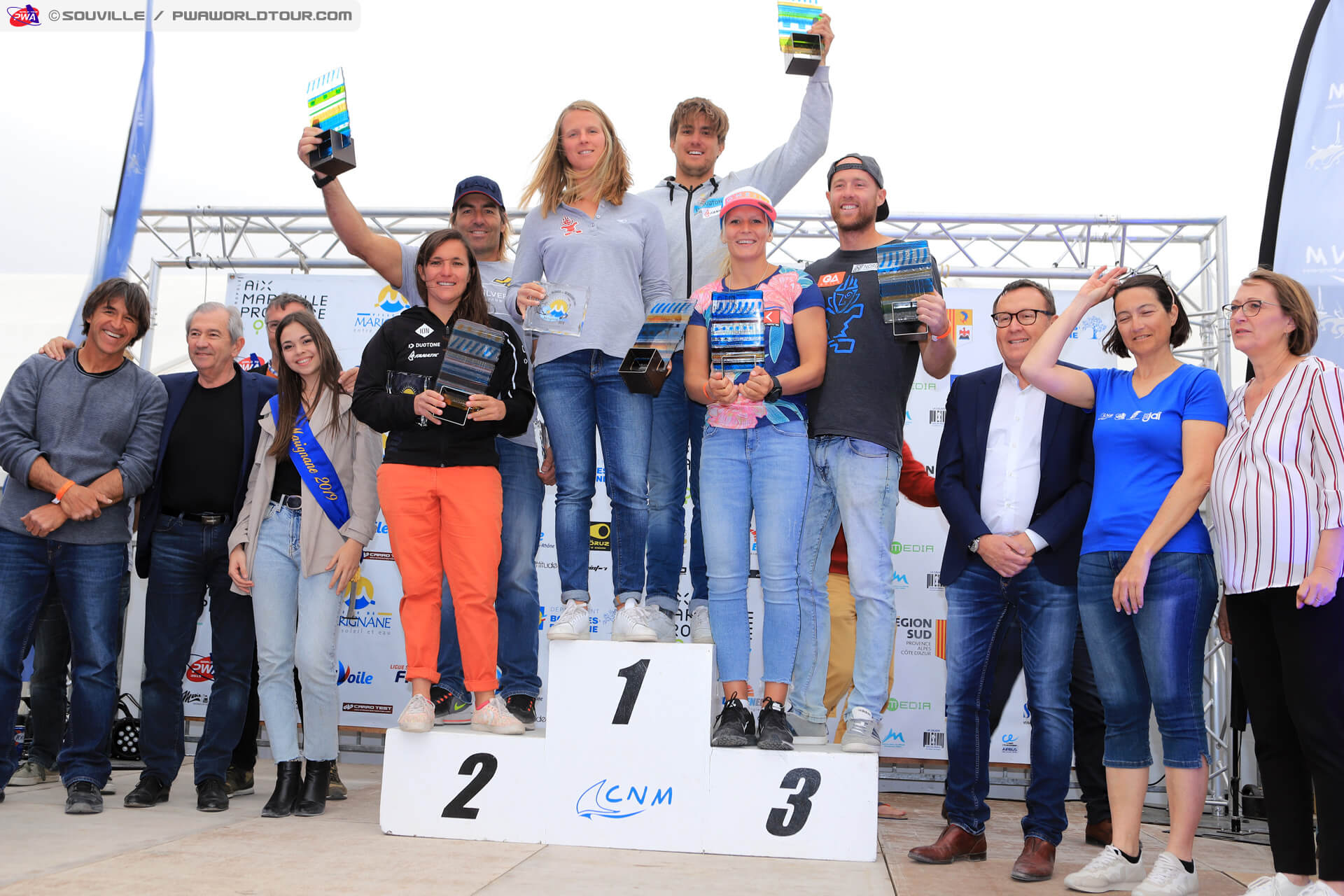 Duotone_Windsurfing_Pierre_and_Marion_Mortefon_PWA_Slalom_Podium