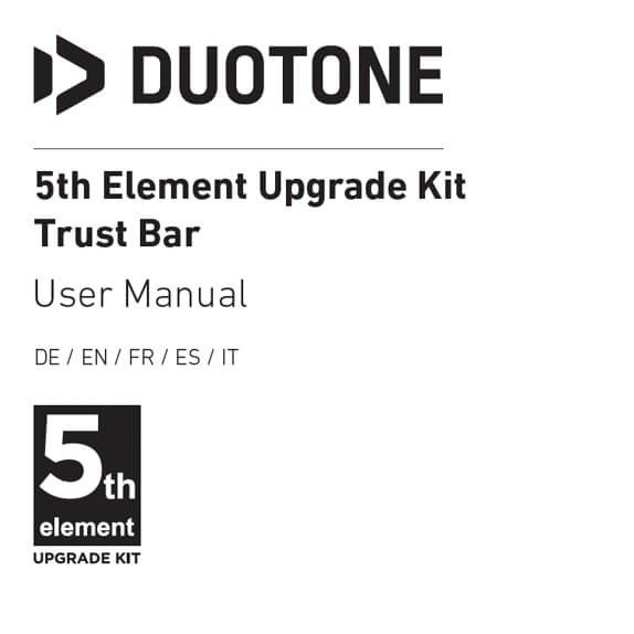 5th Element Upgrade Kit Trust Bar