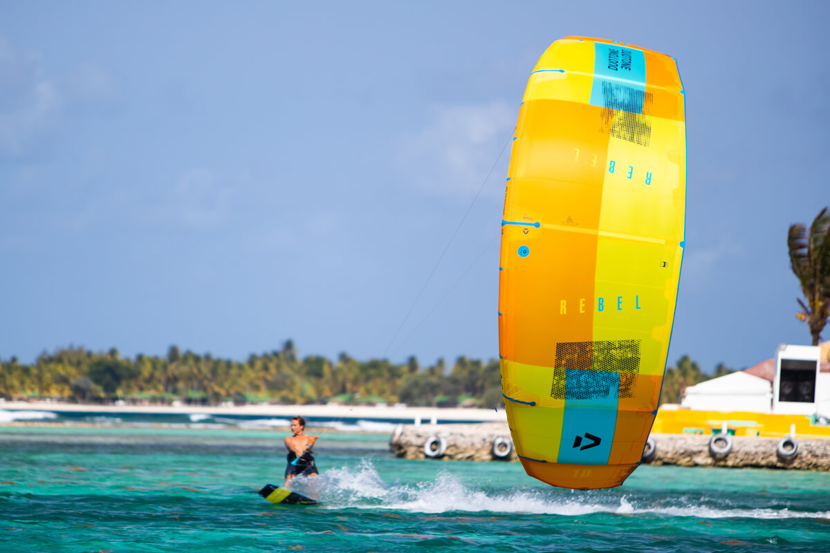 Duotone_Kiteboarding_Rebel_2019_Yellow