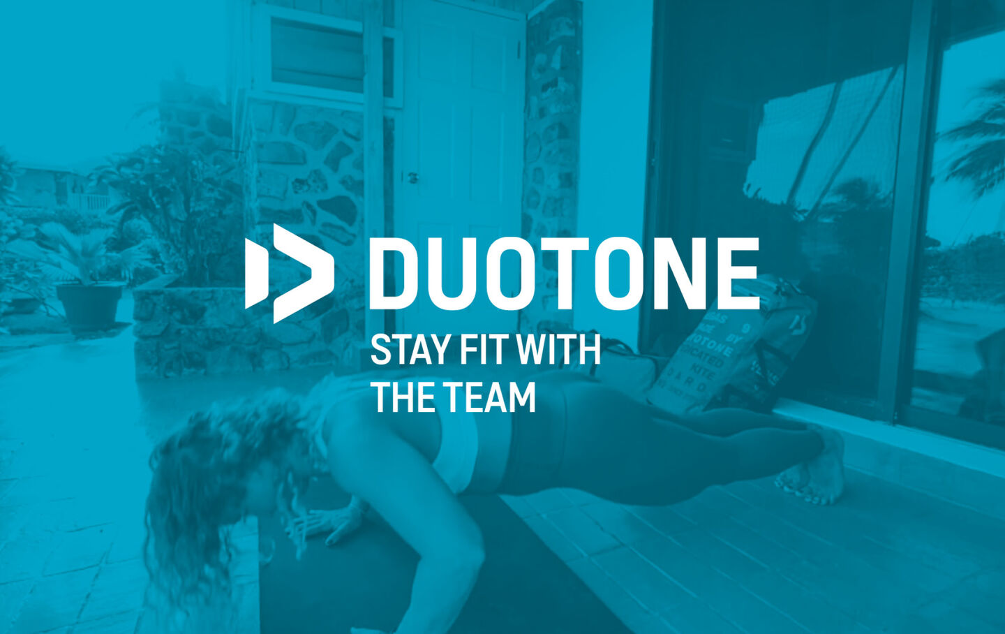 Duotone Kiteboarding Stay fit with the Team pic