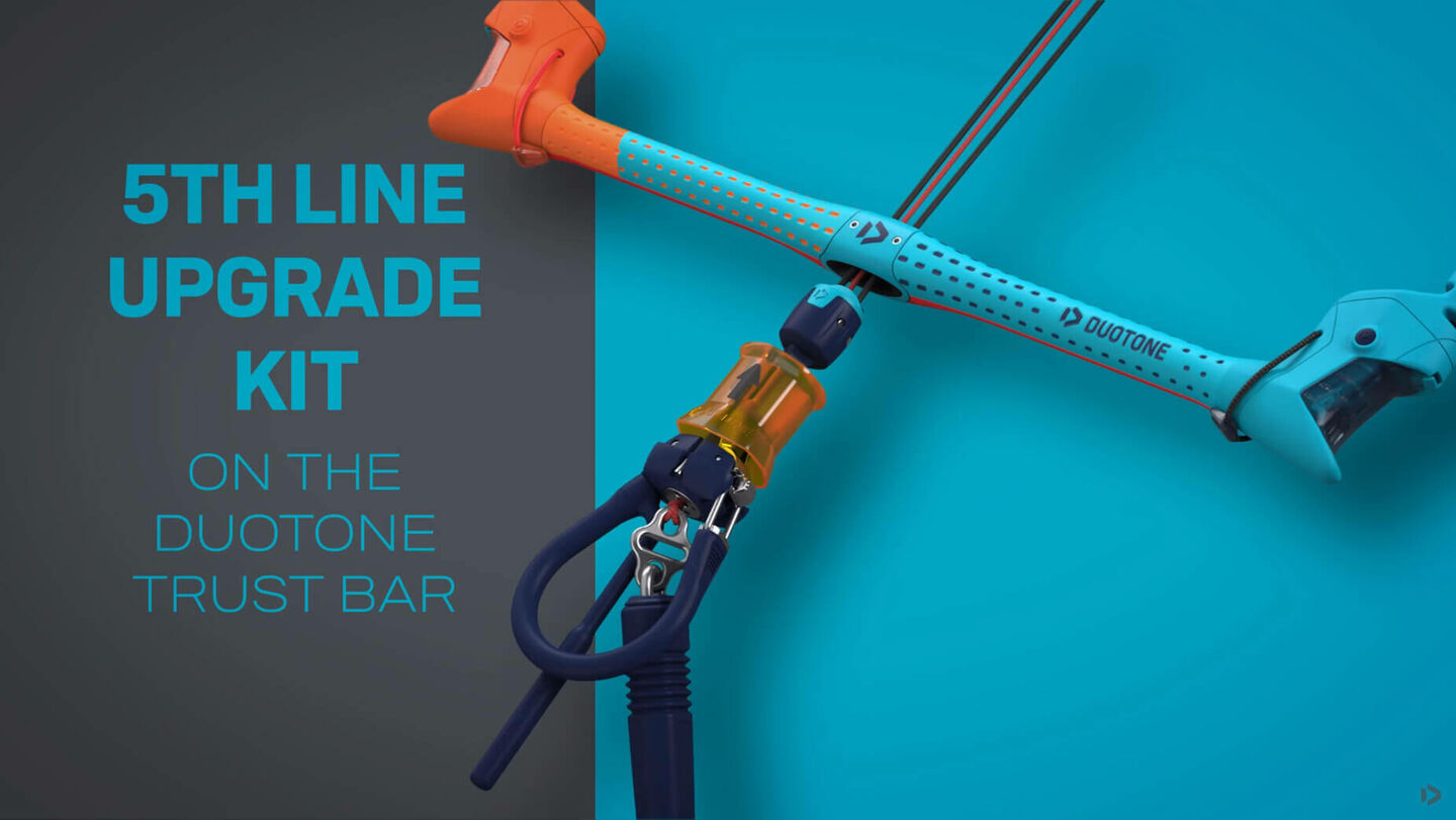 Duotone Trust Bar 5th Line Upgrade Kit 14