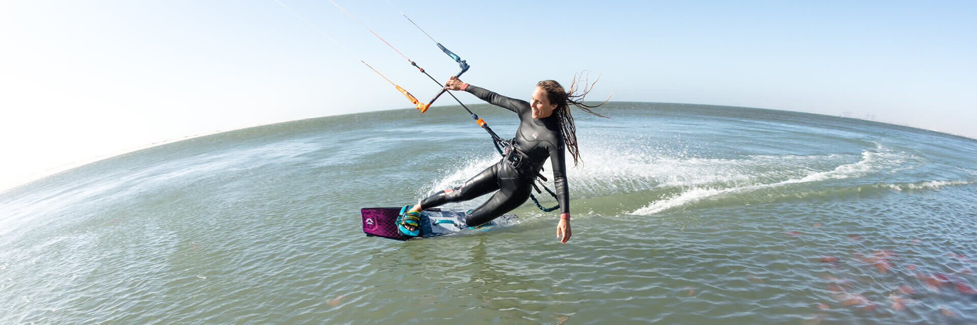 Duotone Kiteboarding Soleil Textreme 2020 Colleen Carroll Header 04