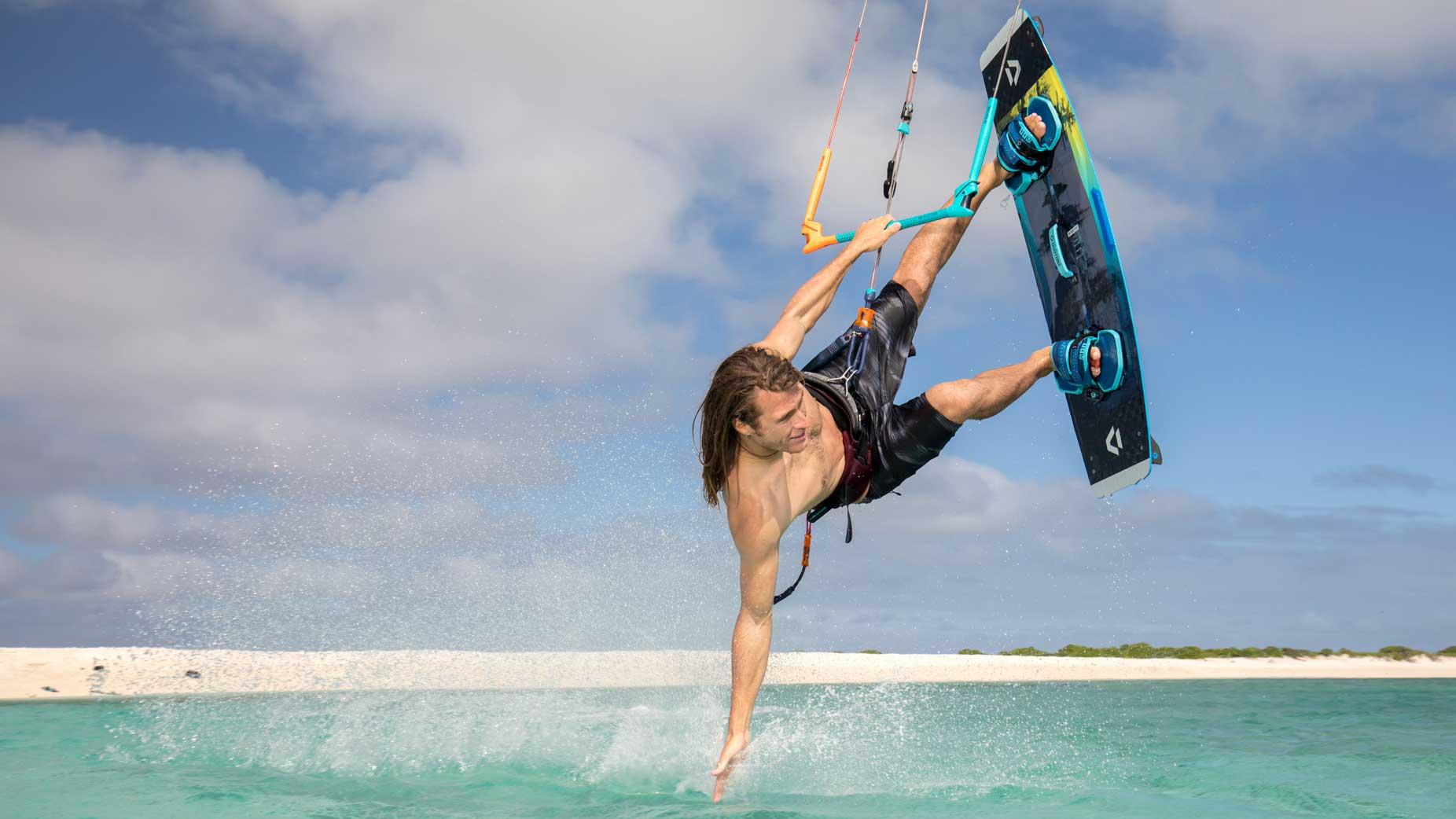 Kitesurfen DUOTONE TRUST BAR QUAD CONTROL 24 METER KITE BAR QUICK RELEASE FREESTYLE KIT Bars